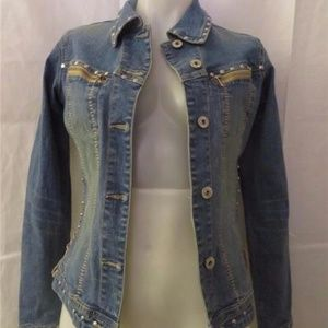 PARASUCO SIDE LACED DESIGN JEAN JACKET  S/P